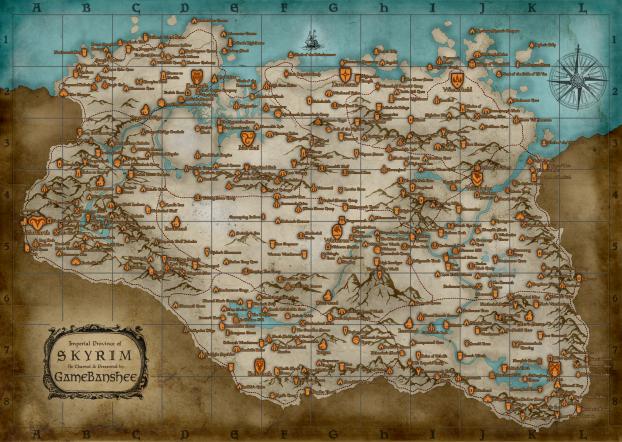 Égkoszorú térképe